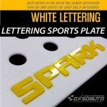 [DXSOAUTO] Chevrolet Spark - Lettering Sports Plate Ver.3 WHITE