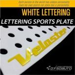 [DXSOAUTO] Hyundai Veloster - Lettering Sports Plate Ver.3 WHITE