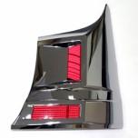 [HSM] Hyundai Grand Starex - Rear Bumper Corner Chrome Molding Set