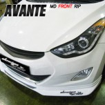 [MYRIDE] Hyundai Avante MD - Front Lip Aeroparts Set