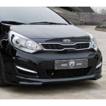 [M&S] KIA All New Pride Hatchback - Front Lip Aeroparts Set