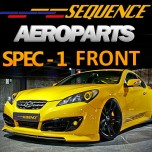 [SEQUENCE] Hyundai Genesis Coupe - SPEC-1 Front Lip Kit