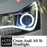 [AUTO LAMP] Chevrolet Cruze - A8 STYLE CCFL LED Headlights Set