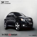 [NOBLE STYLE] Chevrolet Cruze - LED Projector Angel Eyes Headlights