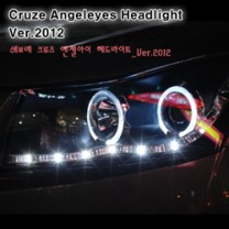 [AUTO LAMP] Chevrolet Cruze - LED Projector Angel Eyes Headlights Ver.2012