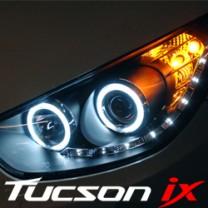[AUTO LAMP] Hyundai Tucson ix - Audi CCFL LED Dual Angel Eye Headlights Set