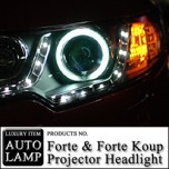[AUTO LAMP] KIA Forte / Koup - CCFL & LED Projector Head Lights Set
