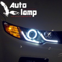 [AUTO LAMP] KIA Forte / Koup - CCFL LED Head Lights Ver.2 (Black Bezel)