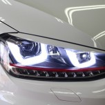 [AUTO LAMP] Volkswagen Golf 7  - GTI Style UU LED Projector Headlights Ver.2