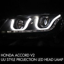[AUTO LAMP] Honda Accord  - Dual Projector Full LED UU Headlights Set Ver.2