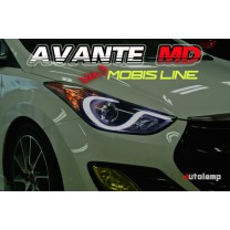 [AUTO LAMP] Hyundai Avante MD - MOBIS Line LED Headlights Ver.3