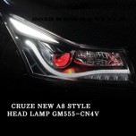 [AUTO LAMP] Chevrolet New Cruze 2015 - A8 STYLE CCFL Projector Headlights