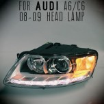 [AUTO LAMP] Audi A6/C6 - LED Projector Headlights