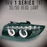 [AUTO LAMP] BMW E87 - LED Projector Headlights