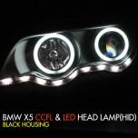 [AUTO LAMP] BMW X5 (E53) - CCFL & LED Headlights Set (HID)