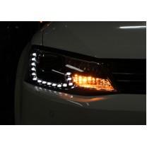 [AUTO LAMP] Volkswagen Jetta  - LED Light Bar Headlights