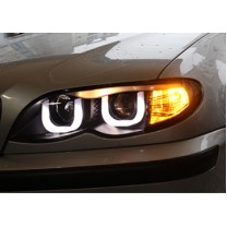 [AUTO LAMP] BMW E46 3Series - LED UU Style Projector Headlights
