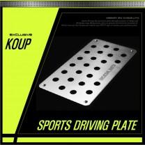 [DXSOAUTO] KIA Forte Koup / K3 Koup - Sports Driving Plate