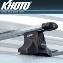 [KHOTO] Hyundai Grand Starex - Roof-on System (Aero bar type) KH261G  (Aluminum Bar 2 Set)