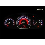 [RUBICON] Hyundai NF Sonata - Rubicon Cluster LED Tuning Panel Ver.2 (RED)