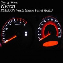 [RUBICON] SsangYong Kyron - Rubicon Cluster LED Tuning Panel Ver.2 (RED)