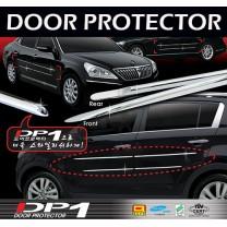 [AUTO CLOVER] Hyundai Santa Fe CM - DP-1 C-Line Door Protector Set (D108)