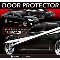 [AUTO CLOVER] Hyundai New Accent - DP-2 C-Line Door Protector Set (D221)