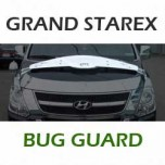 [CROMAX] Hyundai Grand Starex - Bug Guard Chrome Molding Set