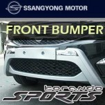 [GSC] SsangYong Korando Sports - Front Bumper Guard Set