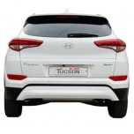[NOBLE STYLE] Hyundai All New Tucson TL - Rear Bumper Skid Plate Set