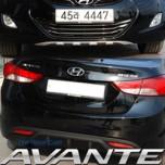[ARTX] Hyundai Avante MD - Front & Rear Bumper Skid Plate Set