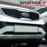 [TUNING FACE] KIA Sportage R - Front & Rear Skid Plate Package