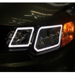 [LED & CAR] KIA Forte - Circle Eye 2Way LED Modules