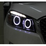 [LED & CAR] KIA All New Sorento UM - Circle Eye 2Way LED Modules