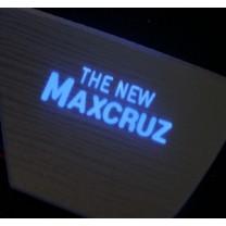 [LED & CAR] Hyundai MaxCruz - Silver Iron LED Inside Door Catch Plates (DLX)