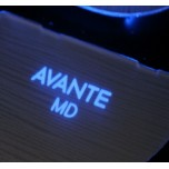 [LED & CAR] Hyundai Avante MD - Silver Iron LED Inside Door Catch Plates (DLX)