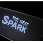 [LED & CAR] Chevrolet The Next Spark - Silver Iron LED Inside Door Catch Plates (DLX)