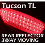 [LED & CAR] Hyundai All New Tucson - Moving Shift Rear Bumper Reflector Full Kit