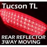 [LED & CAR] Hyundai All New Tucson - Moving Shift Rear Bumper Reflector Full Kit