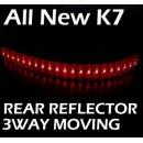 [LED & CAR] KIA All New K7 - Moving Shift Rear Bumper Reflector Full Kit
