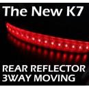 [LED & CAR] KIA The New K7 - Moving Shift Rear Bumper Reflector Full Kit