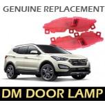 [LED & CAR] Hyundai Santa Fe DM - LED Door Courtesy Lamp Set