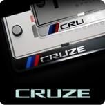 [ZERO SPORTS] Chevrolet Cruze - License Number Frame + Bolts Set (NP308)