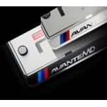 [ZERO SPORTS] Hyundai Avante MD (Elantra MD) - License Number Frame + Bolts Set (NP308)