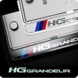[ZERO SPORTS] Hyundai Grandeur HG - License Number Frame + Bolts Set (NP308)