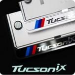 [ZERO SPORTS] Hyundai Tucson iX (Ix35) - License Number Frame + Bolts Set (NP308)