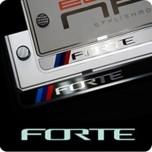 [ZERO SPORTS] KIA Forte - License Number Frame + Bolts Set (NP308)