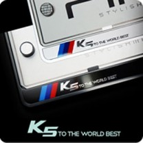 [ZERO SPORTS] KIA K5 - License Number Frame + Bolts Set (NP308)