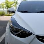 [ARTX] Hyundai Avante MD - 3D Carbon Skin Eyeline & Mudguard Molding Set