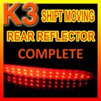 [GOGOCAR] KIA K3 -  Moving Shift Rear Bumper Reflector Full Kit